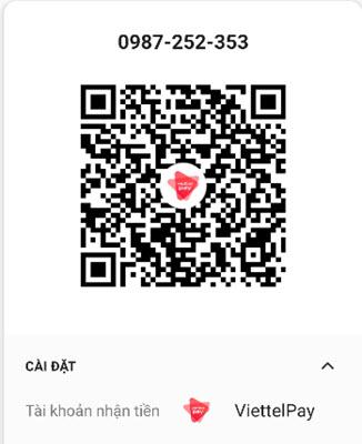 My QR Viettel Pay